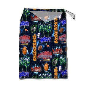 Crazy Sports Mesh Laundry Bag