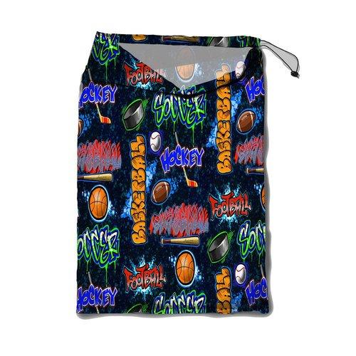 Crazy Sports Mesh Laundry Bag