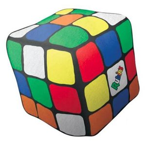 Mini Rubik's Cube Microbead Pillow