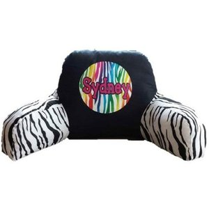 Rainbow Zebra Boyfriend Pillow