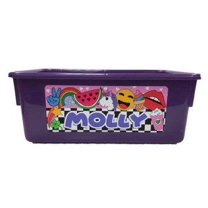 Hipster 'mojis Large Storage Tub