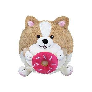 Corgi Holding a Donut Squishable