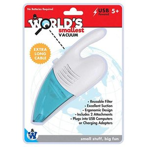 Wold Smallest Vaccum