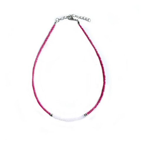 Indian Bead Crystal Choker