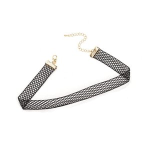 Black Fishnet Choker