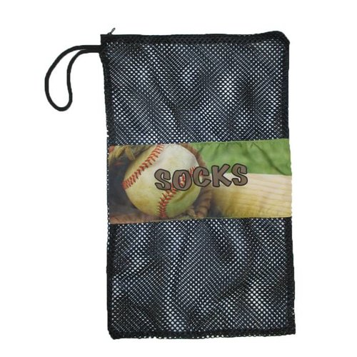 Vintage Baseball Sock Bag