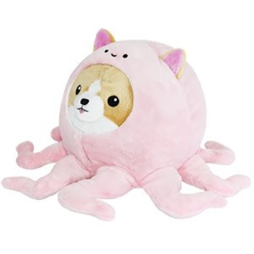 Corgi in an Octopus Squishable