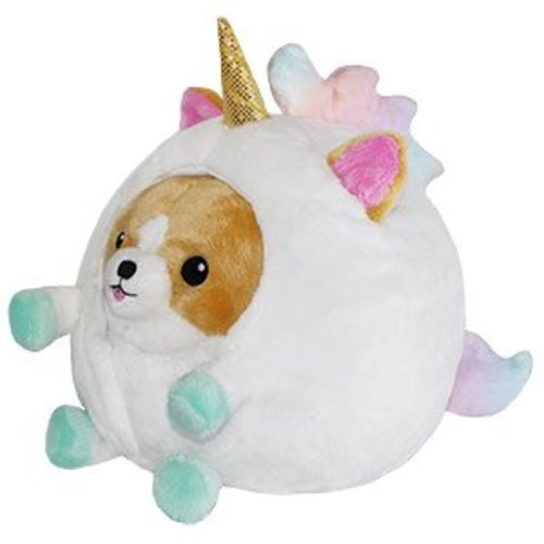 Corgi in a Unicorn Squishable