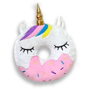 Unicorn Donut Pillow