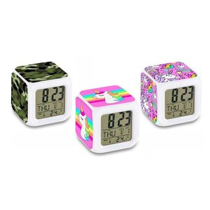 Light Up Patterned Clocks