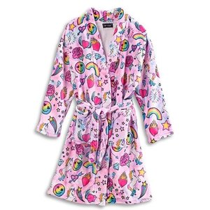 Unicorn Couture Fuzzy Robe