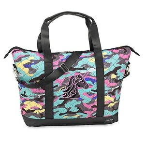 Quilted Camo with Unicorn Weekender