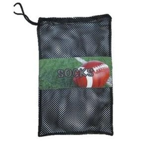 Football Field Mesh Sock Bag