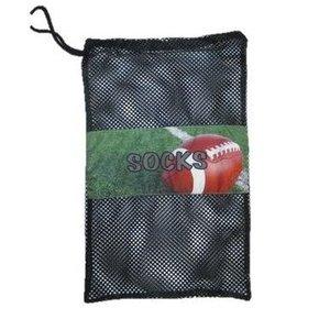 Football Field Mesh Sock Bag