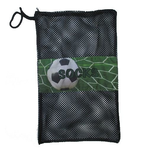 Soccer Goal Mesh Sock Bag