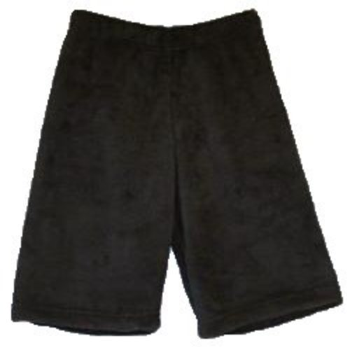 Black Fuzzy Shorts