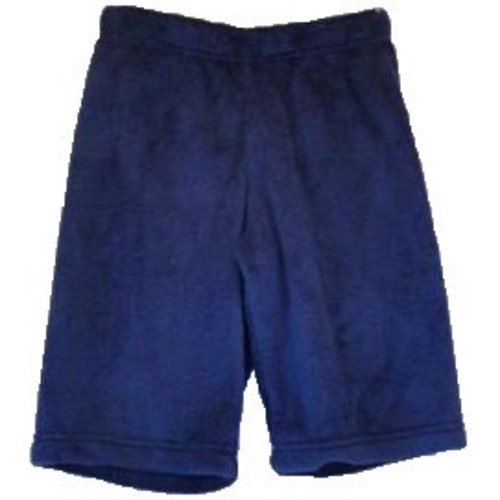 Navy Fuzzy Shorts