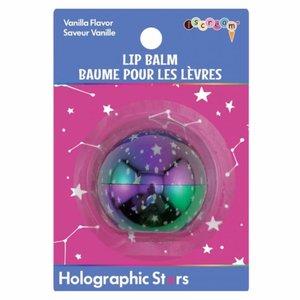 Holographic Stars Lip Balms