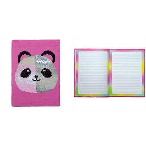 Panda Reversible Sequin Journal