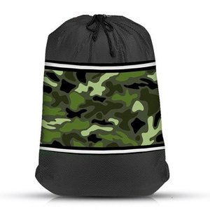 Camo Mesh Laundry Bag