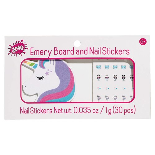 Unicorn Nail File and Stickers