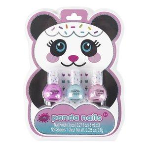 Panda Nail Polish Trio