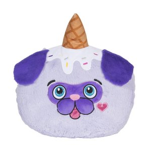 Ice Cream Pug Pillow