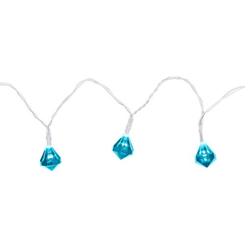 Blue Diamond Gem String Lights