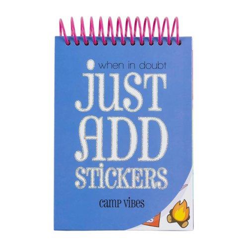 Camp Sticker Book