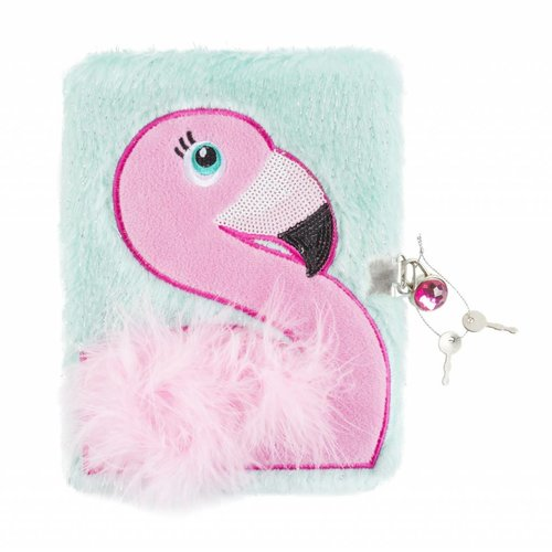 Flamingo Plush Journal