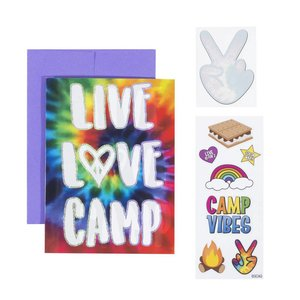 Live,Love, Camp Card