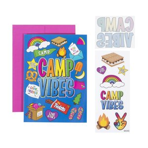 Camp Vibes Card