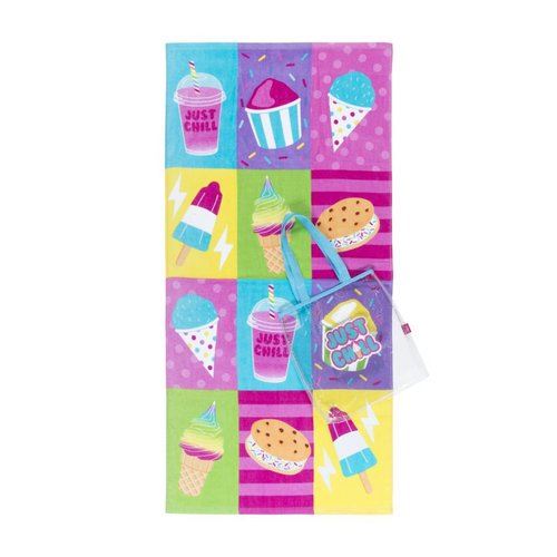 Just Chill Towel and Tote Set