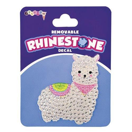 Llama Rhinestone Blingy Decal
