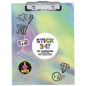 Stick 2 It Holographic Clipboard Set