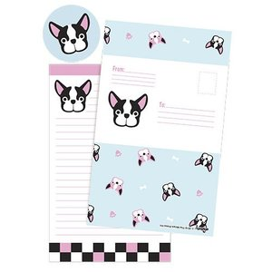 Frenchie Folderover Cards