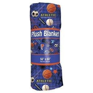 Sports Fuzzy Throw Blanket