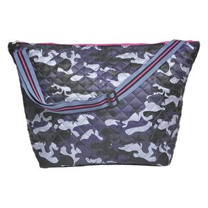 Midnight Blue Camo Weekender Bag