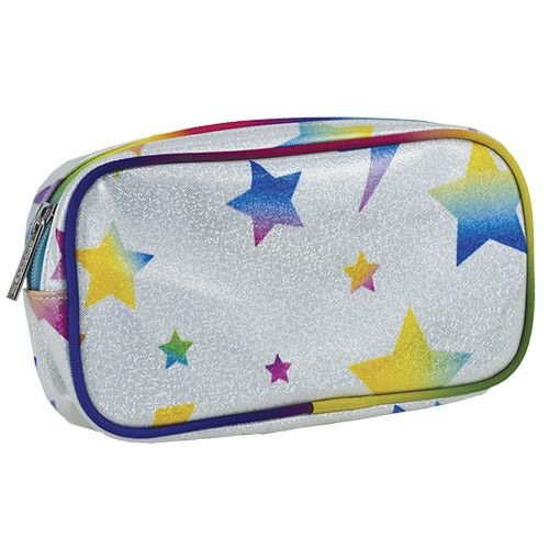 Lightning Bolt and Stars Small Cosmetic Bag