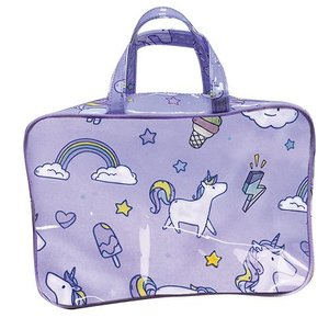 Unicorn Wishes Large Cosmetic Bag