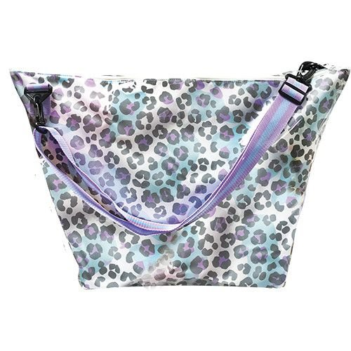 Snow Leopard Weekender Bag