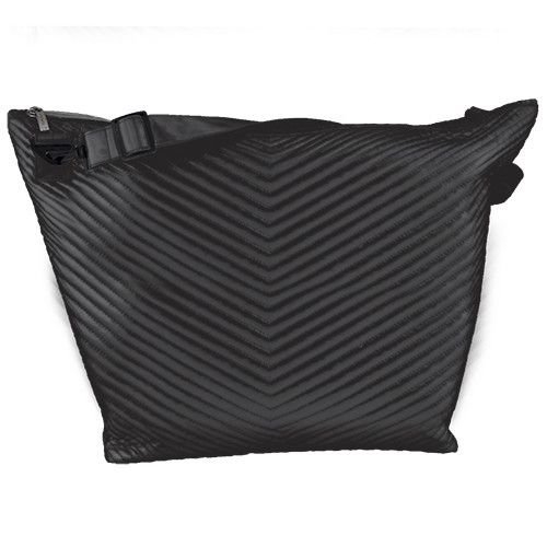 Black Chevron Weekender Bag