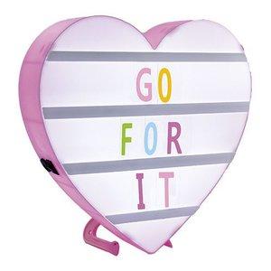 Heart Shaped Message Board