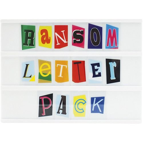 A5 Ransom Style Letter Pack