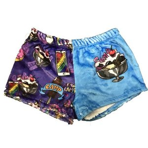 Camp Sundae Fuzzy Shorts