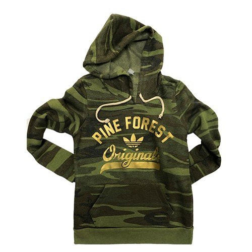 Camo Pullover with Gold Originals