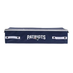 New England Patriots Underbed Storage Bin