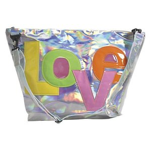 Love Patch Holographic Weekender