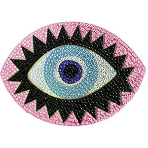Eye Rhinestone Blingy Decal