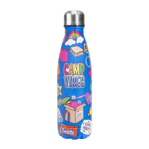Camp Vibes Insulated Water Bottle